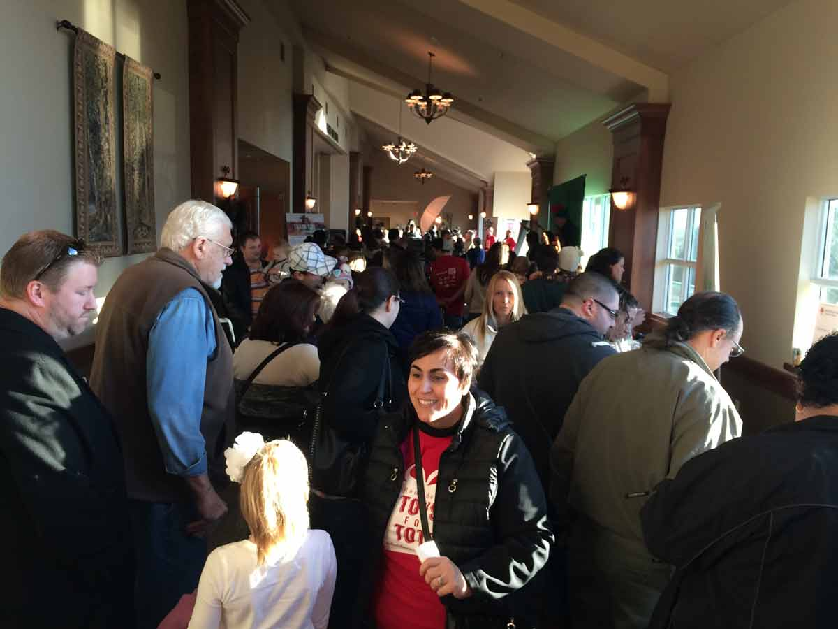 Crowded-hall