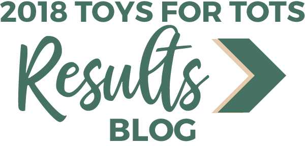 2018 Toys for Tots Results Blog