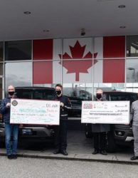 Fraser Valley Auto Mall Food Bank Drive