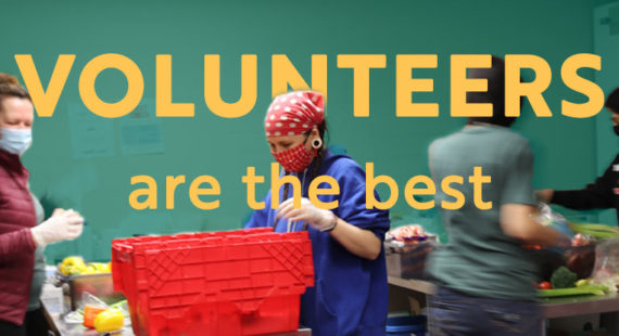 Volunteers are the best